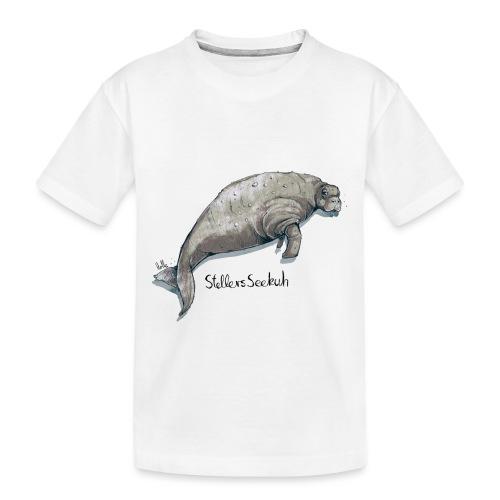 Stellers Seekuh - Teenager Premium Bio T-Shirt