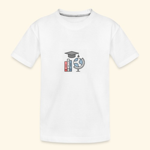 teacher knowledge learning University education pr - Teenager premium T-shirt økologisk