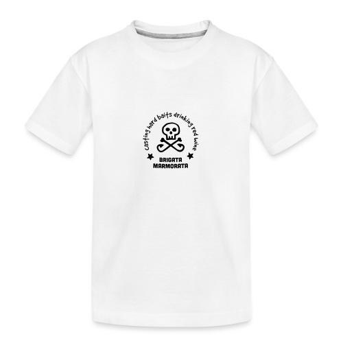 Brigata Marmorata - Maglietta ecologica premium per ragazzi
