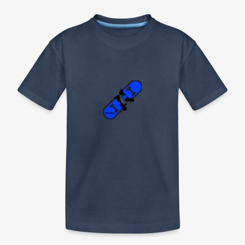 skateboard 512 - Teenager premium T-shirt økologisk