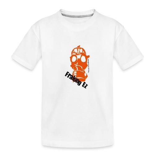 Anti - fraking - Camiseta orgánica premium adolescente