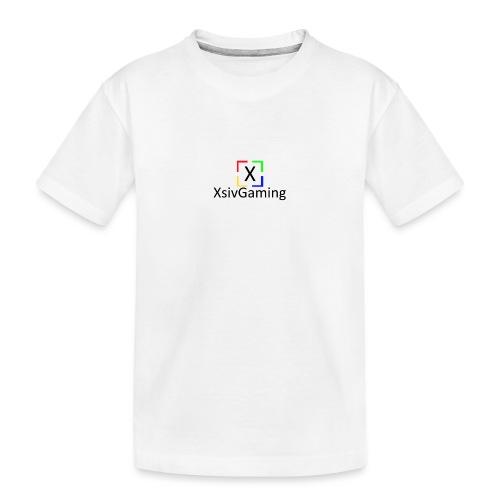 XsivGaming Logo - Teenager Premium Organic T-Shirt