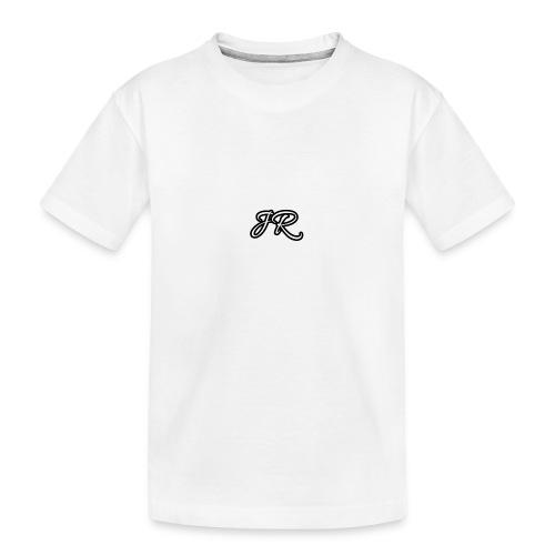 JR Logo Mens T-Shirt - Teenager Premium Organic T-Shirt