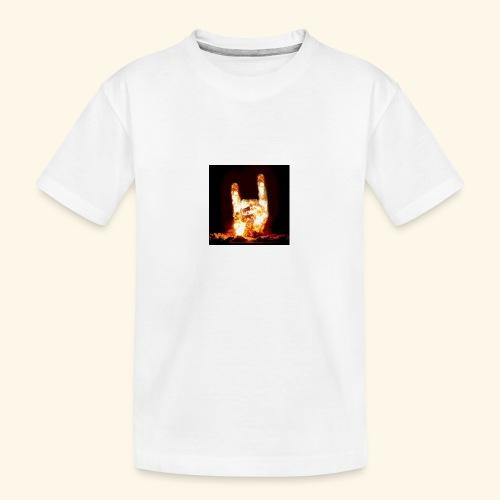 fingers bomb - T-shirt bio Premium Ado