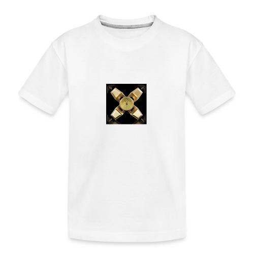 Spinneri paita - Teinien premium luomu-t-paita