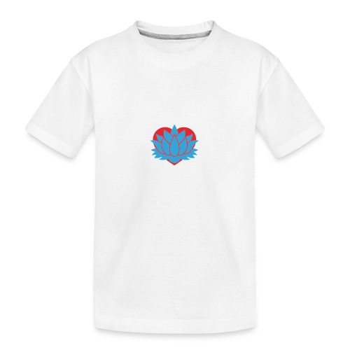 Cœur de Lotus - T-shirt bio Premium Ado
