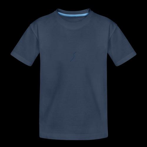 logo Style bleu - T-shirt bio Premium Ado