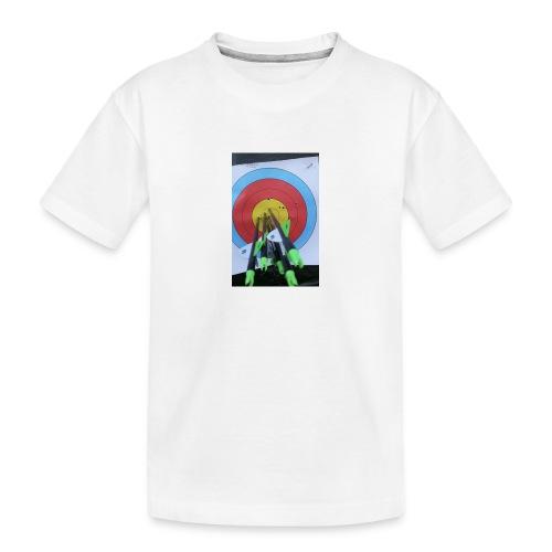 F1C5C2F0 28A3 455F 8EBD C3B4A6A01B45 - Premium økologisk T-skjorte for tenåringer