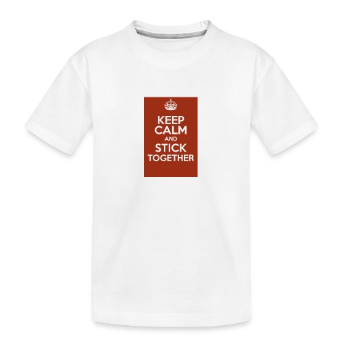 Keep calm! - Teenager Premium Organic T-Shirt
