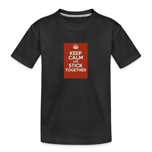 Keep calm! - Teenager Premium Organic T-Shirt