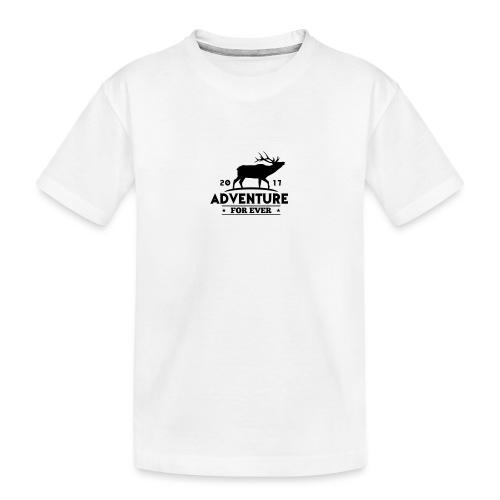 ADVENTURE FOR EVER - CERVO - Maglietta ecologica premium per ragazzi