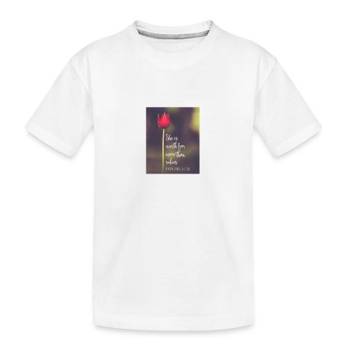 IMG 20180308 WA0027 - Teenager Premium Organic T-Shirt