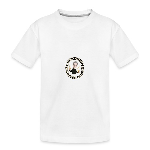 Lockdown Coffee Club 2020 - Teenager Premium Organic T-Shirt