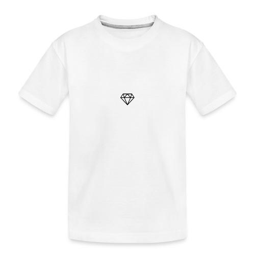 black diamond logo - Teenager Premium Organic T-Shirt