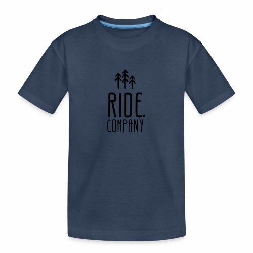 RIDE.company Logo - Teenager Premium Bio T-Shirt