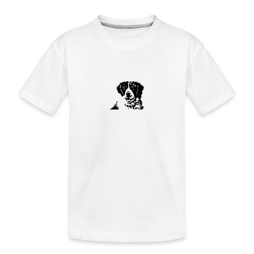 Barry - St-Bernard dog - Teenager Premium Bio T-Shirt