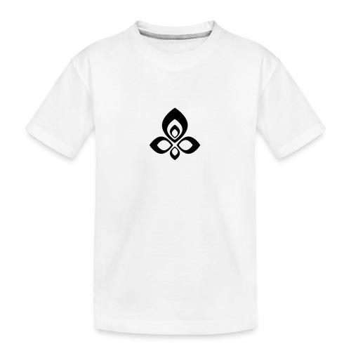 Abstract - Camiseta orgánica premium adolescente