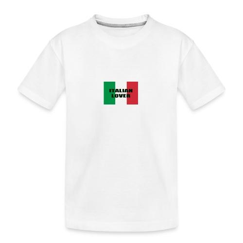 ITALIAN LOVER - Maglietta ecologica premium per ragazzi