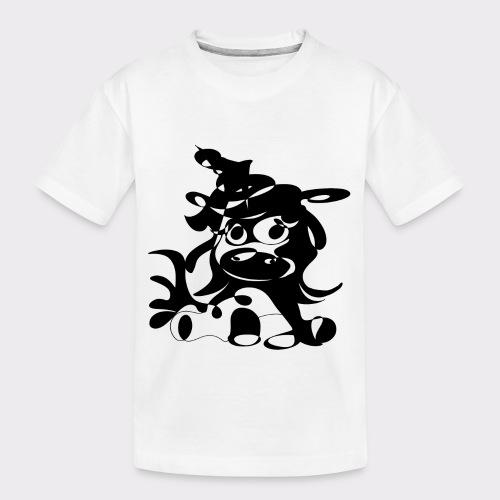 Einhorn Lineart Kollektion - Teenager Premium Bio T-Shirt