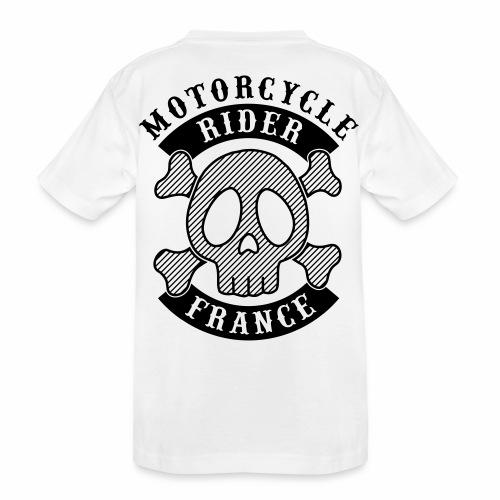 Motorcycle Rider France - T-shirt bio Premium Ado
