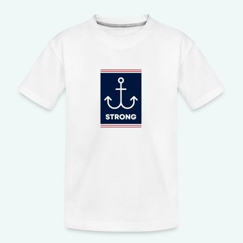 Strong - Teenager Premium Bio T-Shirt