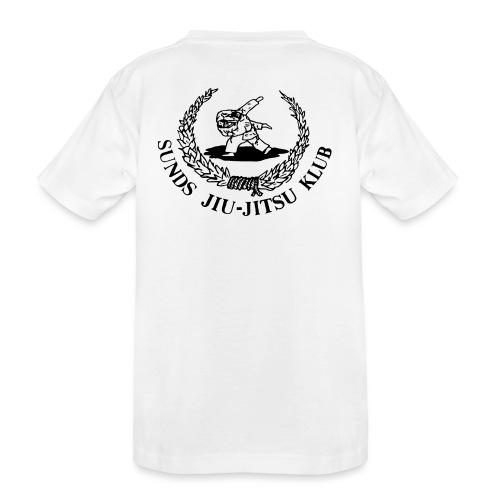 logo bagpå - Teenager premium T-shirt økologisk