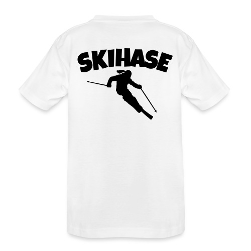 Skihase Ski Skifahrerin Wintersport - Teenager Premium Bio T-Shirt