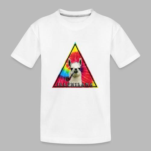Illumilama logo T-shirt - Teenager Premium Organic T-Shirt