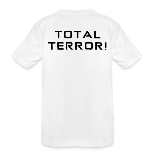 Black Negant logo + TOTAL TERROR! - Teenager premium T-shirt økologisk