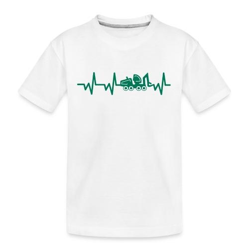 Forst | Herzschlag - Teenager Premium Bio T-Shirt