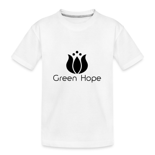 Logo + Ens GreenHope - T-shirt bio Premium Ado