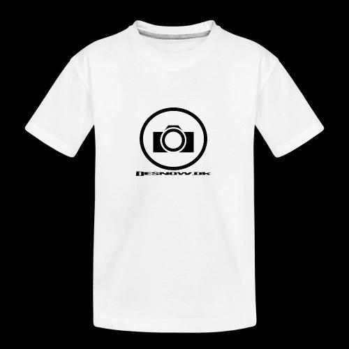 sort2 png - Teenager premium T-shirt økologisk