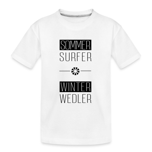 sommer surfer winter wedler - Teenager Premium Bio T-Shirt