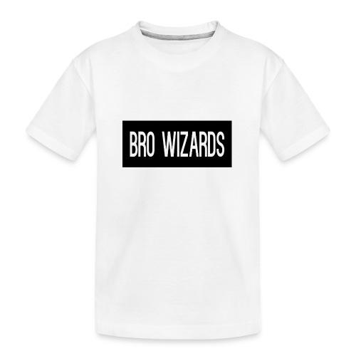 Browizardshoodie - Teenager Premium Organic T-Shirt