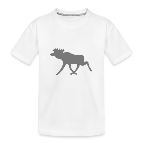 Schwedenelch; schwedisches Elch-Symbol (vektor) - Teenager Premium Bio T-Shirt