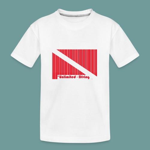 flag_barre_ud - T-shirt bio Premium Ado