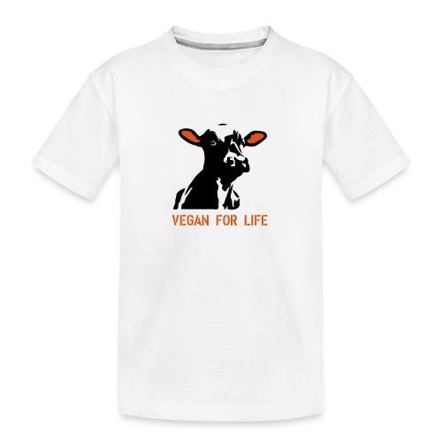 colorida vegan for life - Teenager Premium Bio T-Shirt