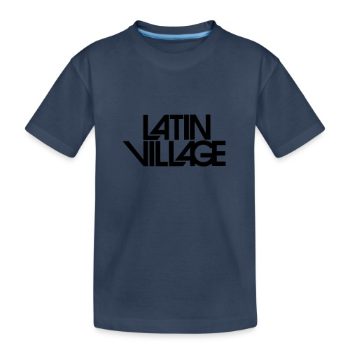 Logo Latin Village 30 - Teenager premium biologisch T-shirt