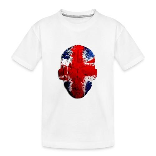Borg recordings uk Union flag MetaSkull T Shirt - Teenager Premium Organic T-Shirt