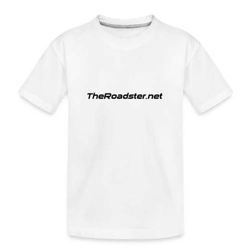 TheRoadster net Logo Text Only All Cols - Teenager Premium Organic T-Shirt