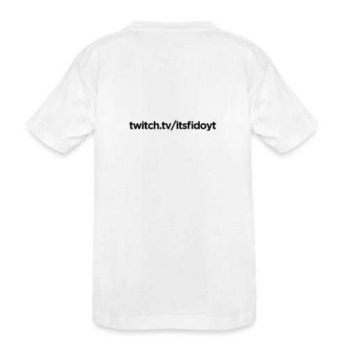 Fido - Twitch Link - Teenager premium T-shirt økologisk