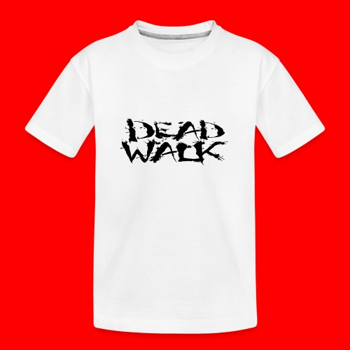 DEADWALK logo - Teenager Premium Organic T-Shirt