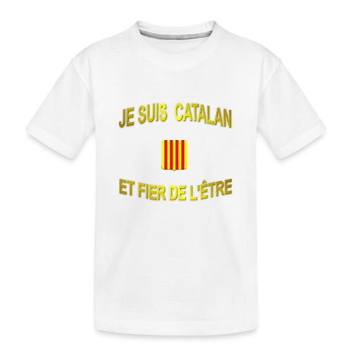 Tee-Shirt supporter du pays CATALAN - T-shirt bio Premium Ado