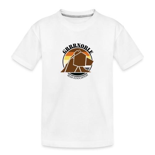 Logo 1 GRRRNOBLE BEAR ASSOCIATION - T-shirt bio Premium Ado