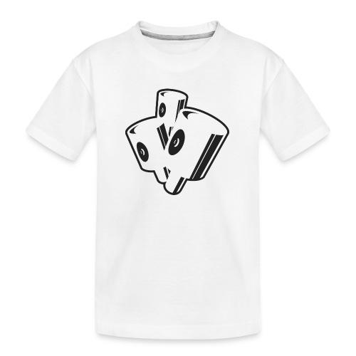 graffiti fat caps x3 ver.0.1 - Teenager premium T-shirt økologisk