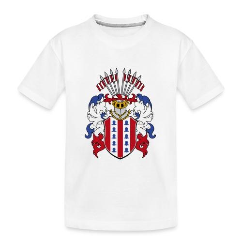 wappen amelunxen historisch - Teenager Premium Bio T-Shirt