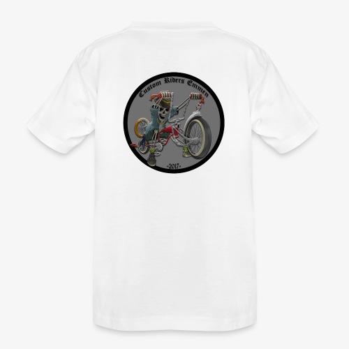 Custom Riders Emmen - Teenager premium biologisch T-shirt