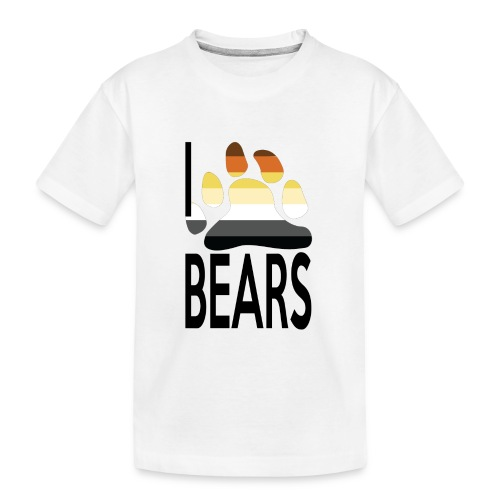 I love bears - T-shirt bio Premium Ado