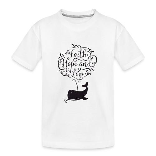 design wal copy - Teenager Premium Bio T-Shirt