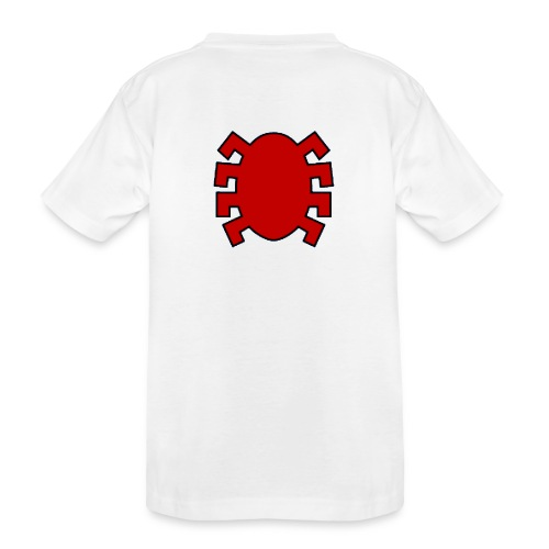 spiderman back - Teenager Premium Organic T-Shirt